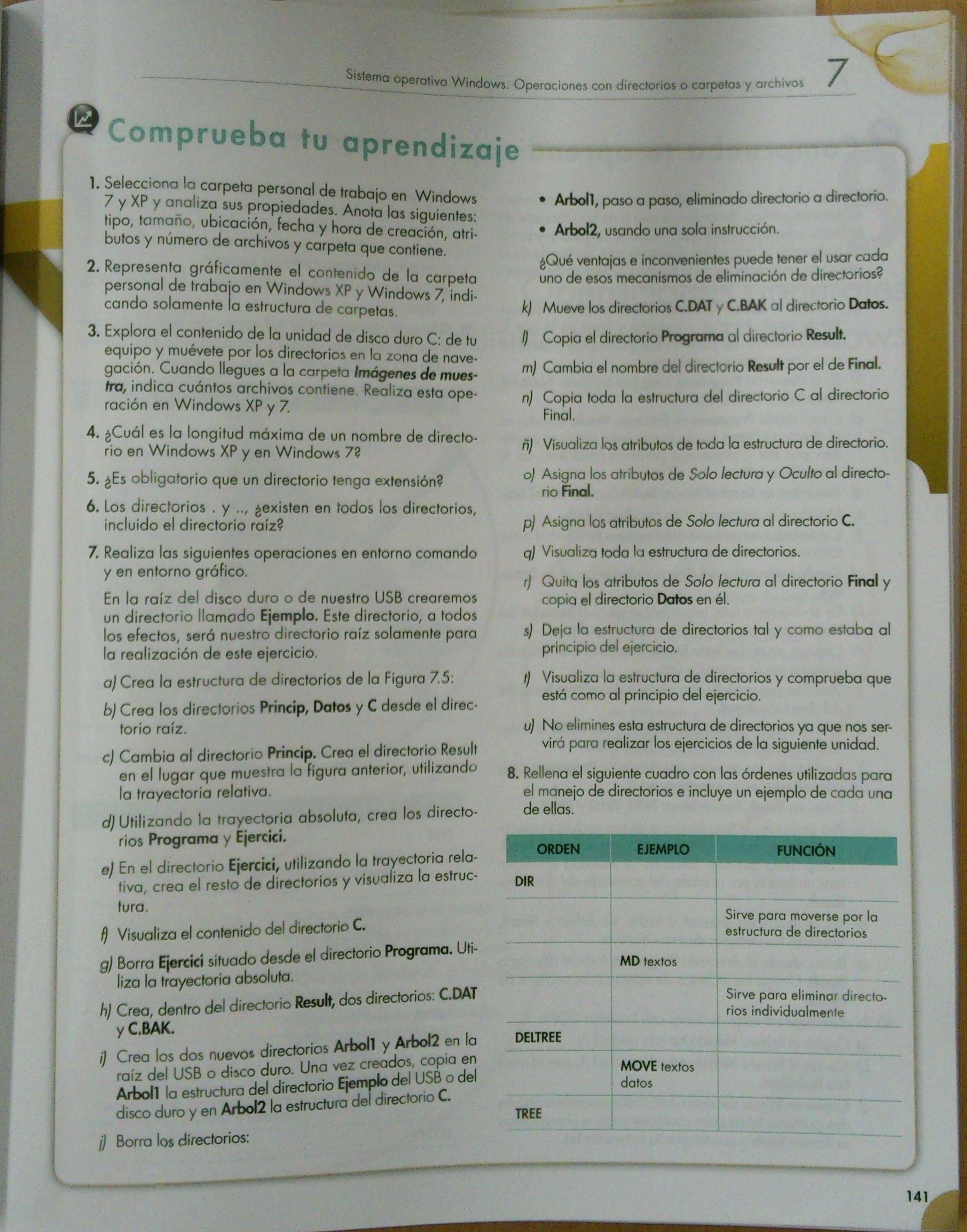 Ejercicios Tema 7