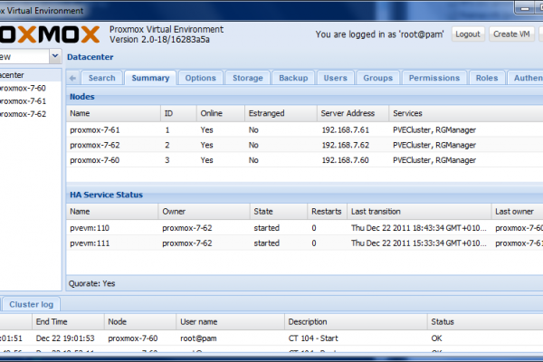 Virtualización de servidores con Proxmox