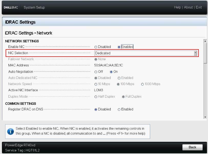 Control remoto en servidores Dell – iDrac
